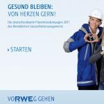 RWE Praeventionskampagne des BGM: Intranet