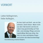 RWE Gesundheitskampagne des BGM: Folder