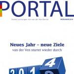 van der Ven Dental: Kundenmagazin PORTAL, Frühjahr 2014