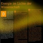 prospect 2011: Energiewissenschaft