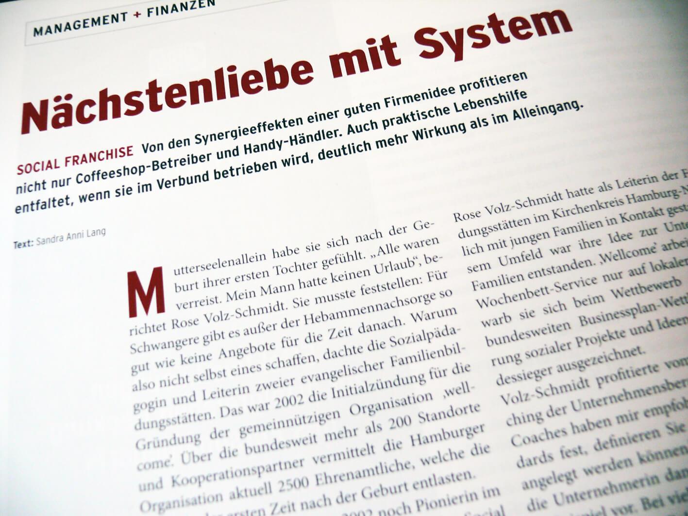 Social Franchising: Nächstenliebe mit System