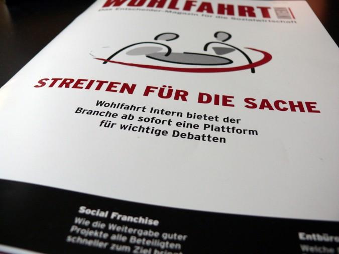 Wohlfahrt Intern, Ausgabe 01/13 © Sandra Anni Lang