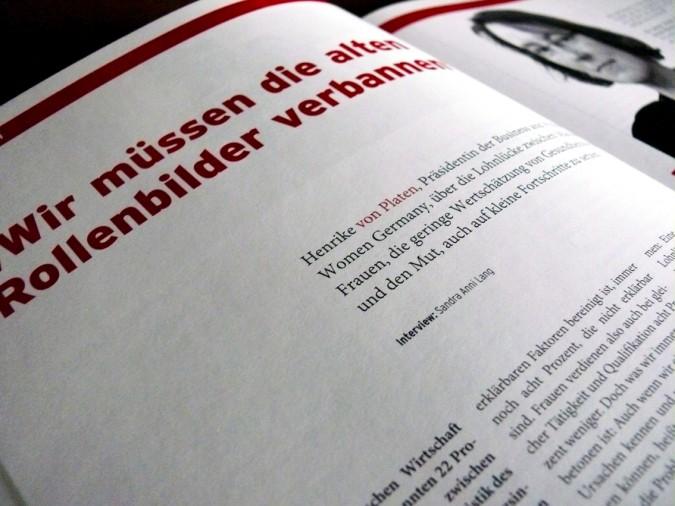 Interview mit Henrike von Platen, Wohlfahrt Intern 03/13