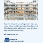 Eröffnungsfolder: Das neue Hans-Sachs-Haus 2013