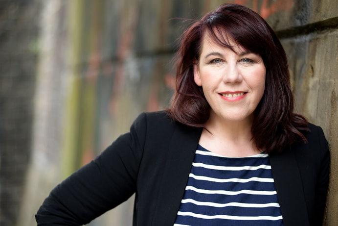 Sandra Anni Lang, Journalistin und Werbetexterin bei lang.text | Kommunikation. Fotografin: Anke Sundermeier