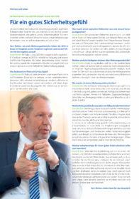 Für ein gutes Sicherheitsgefühl – Interview mit Polizeipräsident Frank Richter