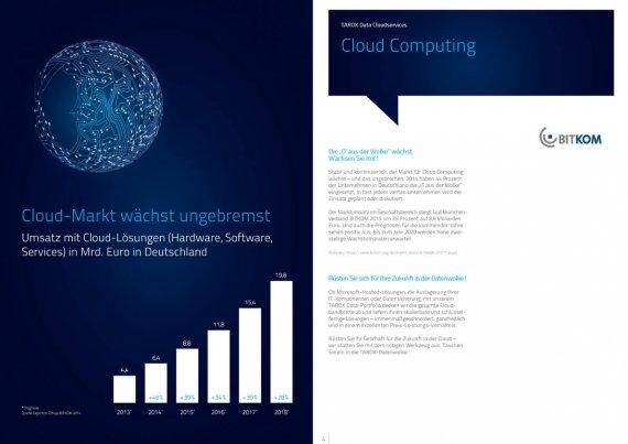 Broschüre TAROX Data Cloudservices