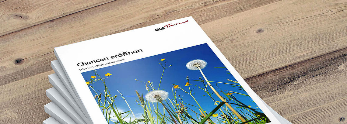 GlS Treuhand: Imagebroschuere Titelseite