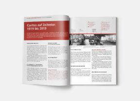 100 Jahre Caritas 2019 Jubiläumsbroschüre S. 10-11