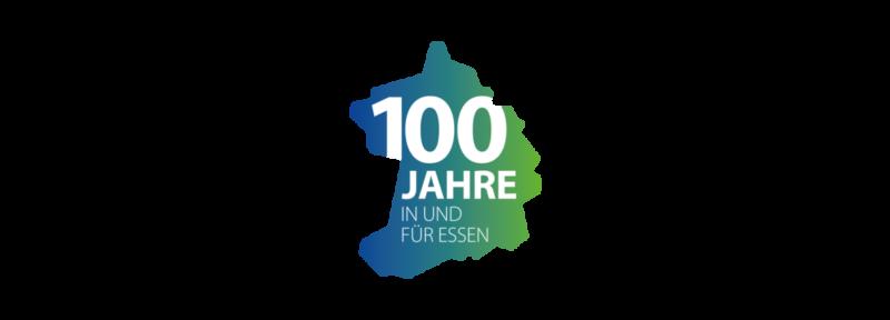 Allbau-Logo 100 Jahre