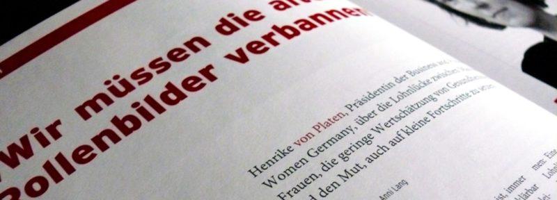 Interview Henrike von Platen für Wohlfahrt intern, 03/13