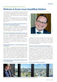 Interview mit Oberbürgermeister Thomas Kufen