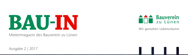Bauverein zu Lünen: Mieterzeitung Bau-In