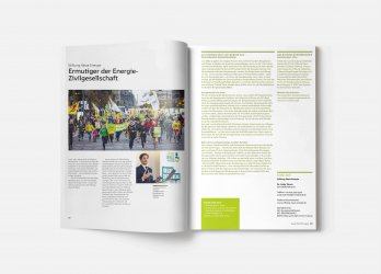 Chancen eröffnen: Ermutiger der Energiegesellschaft, Imagebroschüre 2014, GLS Treuhand