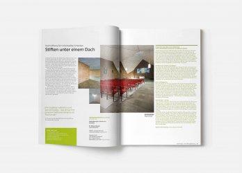 Chancen eröffnen: Stiften unter einem Dach, Imagebroschüre 2014, GLS Treuhand