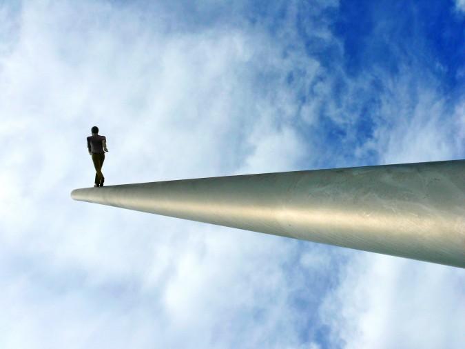 Jonathan Borofsky: Himmelsstürmer © Sandra Annni Lang