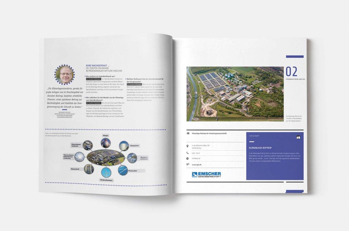 """Von der Kläranlage zum Hybridkraftwerk - Katalog """"Starke Partner – exzellente Projekte"""""""