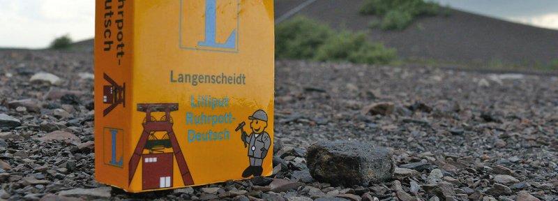 Lilliput Ruhrpott-Deutsch auf Halde-Rungenberg © Sandra Anni Lang