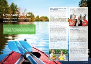 """Olympiasieger in Rio: Interview aus dem Mietermagazin der Allbau AG """"Mein Zuhause"""", 2016"""
