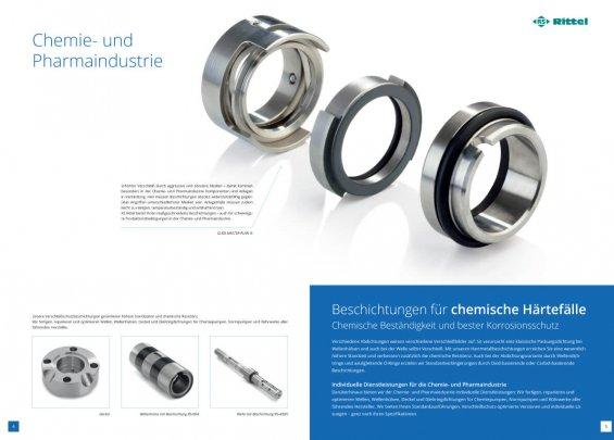RS Rittel Imagebroschüre: Chemie- und Pharmaindustrie