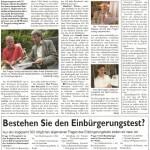 Den Stadtspiegel Hattingen unterstütze ich mit Berichten, unter anderem über das Dauerstreitthema Blaue Tonne oder den Einbürgerungstest.