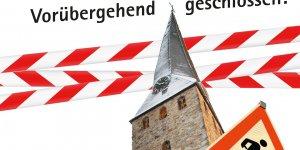 St.-Georgs-Kirche – vorübergehend geschlossen!