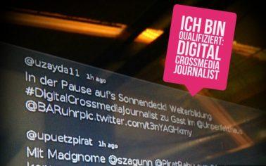 Ich bin qualifiziert: Digital-Crossmedia-Journalist*in