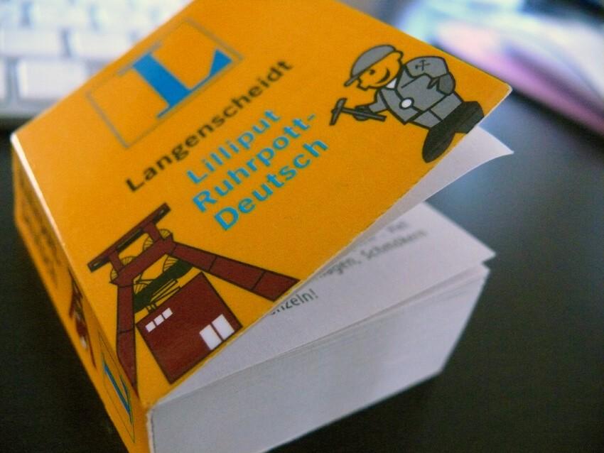 Langenscheidt Lilliput Ruhrpott-Deutsch © Sandra Anni Lang